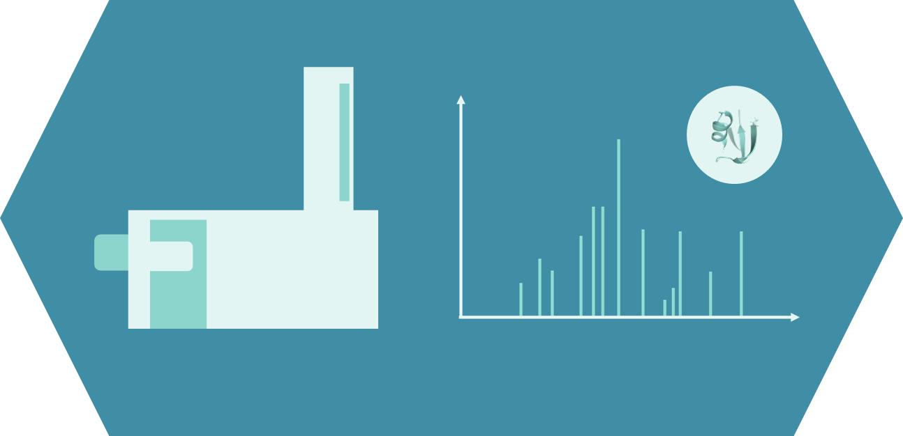 Peptide mass spectrometry service